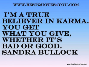 Karma-Full Circle | Quotes