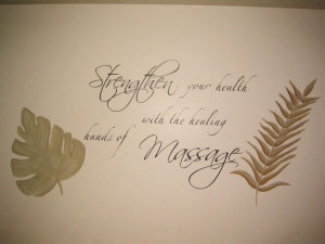 Painted Daisies: Paradise Couple's Massage Room