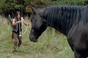 The Walking Dead: Daryl Dixon's Quote About Buttons, the Horse