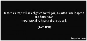 More Tom Holt Quotes