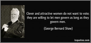 Clever And Attractive Women