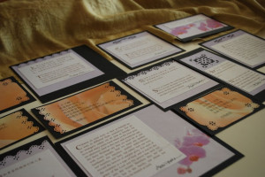 Quotations chosen and decorated for the Birth of Baha'u'llah