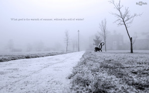 Quotes About Winter Cold