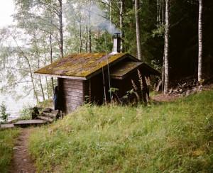lake forest cabin finland log cabin sauna