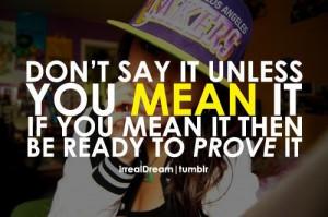 Prove it, ratchet
