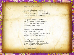 Inspirational Happy Mother s Day 2015 Poems From Daughter