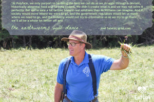 Image © EatLuv. Quote from: Joel Salatin's response to New York Times ...