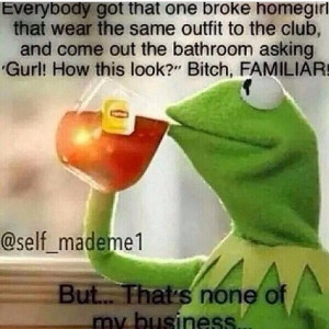What's the deal with this Kermit the Frog drinking tea meme?