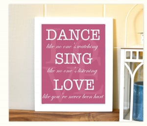Inspirational Soccer Quotes For Girls Girl's room decor, typography,