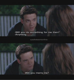 Walk to Remember BESR MOVIE EVER I cry every time. LOVE THIS MOVIE.