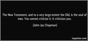 More John Jay Chapman Quotes