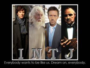 Sherlock Holmes, Gandalf, Dr. House, Vito Corleone. Female INTJs are ...