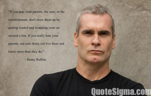 ... form America. Here are some of the powerful quotes by Henry Rollins