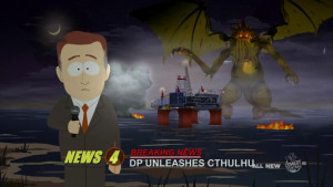 2011 Cthulhu is watching. the other South Park folks