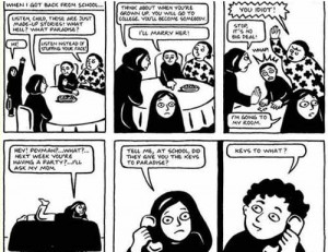 Persepolis [Graphic Novel]