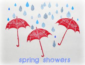 Rain Drops Its April Shower...
