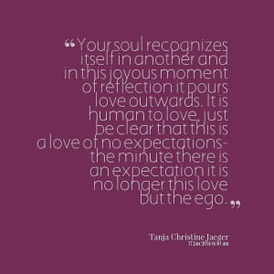 Quotes Picture: your soul recognizes itself in another and in this ...