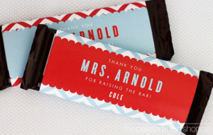 Free Printable Candy Bar Wrappers Teacher Appreciation