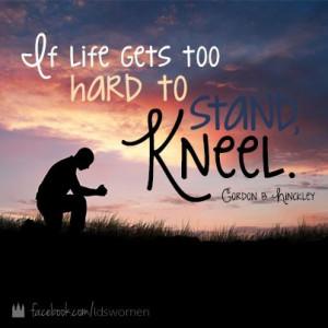 Pray. He is listening. #lds #quotes #mormon #pray #prayer