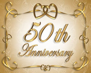 happy 50th anniversary today i m wishing a happy 50th wedding ...