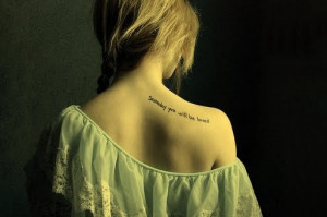 love shoulder tattoo Stylish Shoulder tattoos for women