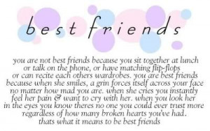, Meaningful Best Friends Quotes, I Love You, Meaningful Bff Quotes ...