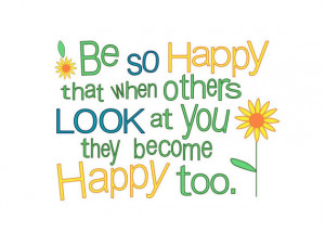 Cute Summer Quotes For Facebook Albums Be so happy sun flower summer