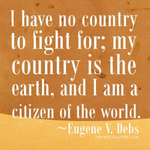 Love Country quotes – Daily Inspirational quote July 4th