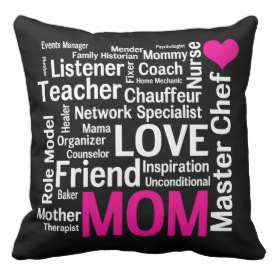 ... Cloud Mother Text Sayings – Black World's Best Mom Pink and Black