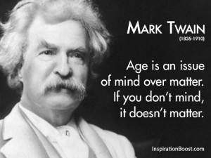 Mark Twain Popular Quotes