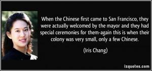 More Iris Chang Quotes