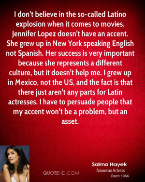 don't believe in the so-called Latino explosion when it comes to ...