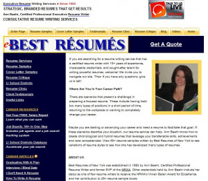 Top professional resume writing services