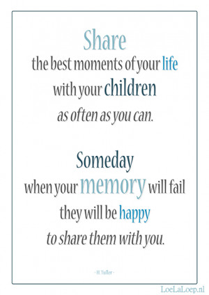 And then the day will come that someone you love will pass away. All ...