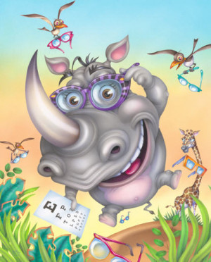 funny rhino funny rhino cartoon animal pictures pics and animal ...