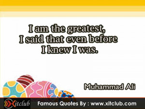 You Are Currently Browsing 15 Most Famous Quotes By Muhammad Ali