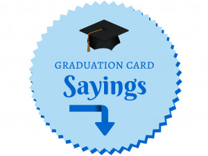 Graduation Card Wording – Sprinkled in Gold