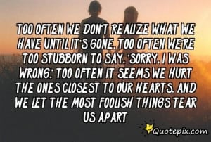 ... The Most Fooli - QuotePix.com - Quotes Pictures, Quotes Images, Quote