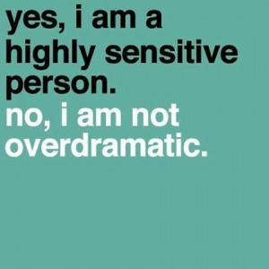 Sensitive People Quote