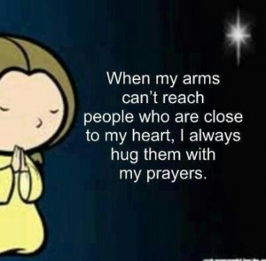 hug you in my prayers...
