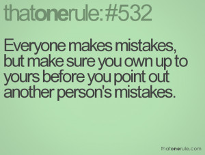 admit your mistakes quotes
