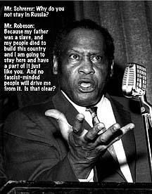 Paul Robeson : Standing Tall Now, as Then