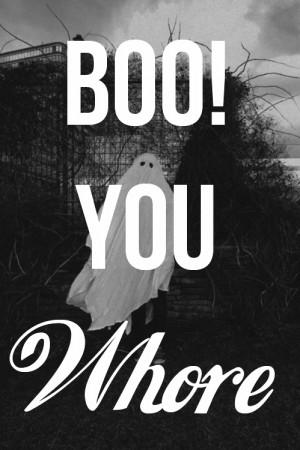 boo, ghost, mean girls, rachel mcadams, text, whore, words
