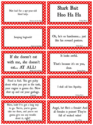 Mind Games Quotes Disney movie quotes game with