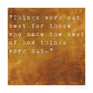 Inspirational Quote By John Wooden On Earthy Brown Background Art ...