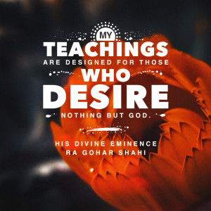 Quote of the Day: My Teachings Are For...