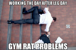 Gym rat problems