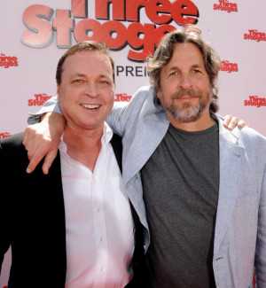 Bobby Farrelly and Peter Farrelly at event of The Three Stooges 2012
