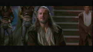 Liam Neeson as Qui-Gon Jinn in Twentieth Century Fox's action movie ...