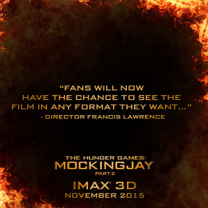 """THE HUNGER GAMES: MOCKINGJAY – PART 2"""" SOARS INTO IMAX® 3D ..."""